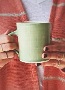 Bilde av Lys Grønn - Kaffe Krus