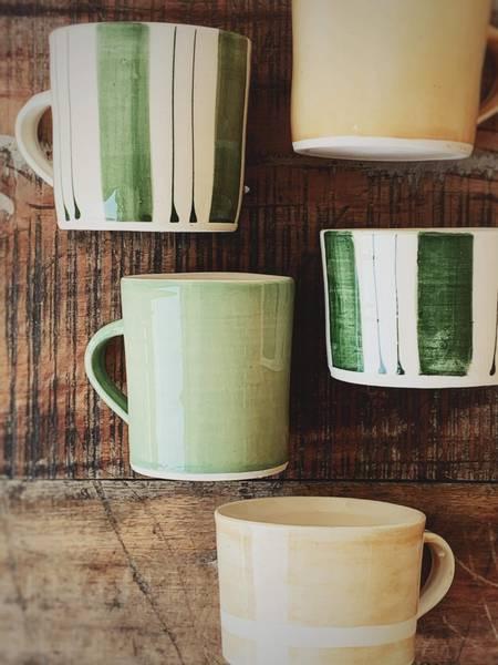 Lys Grønn - Kaffe Krus