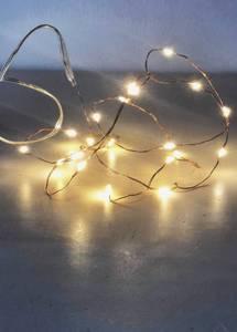 Bilde av Kobbertråd med 20 lys