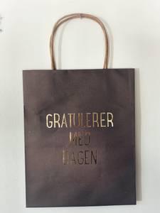 Bilde av Grå - Gratulerer Gavepose