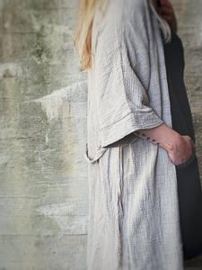 Bilde av Beige - SPA Bomull Kimono